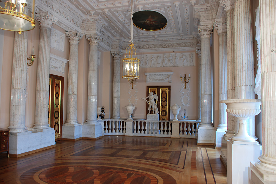 Marble Dining Room First Floor Gatchina Palace