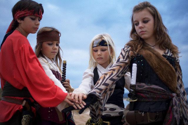 дети, пираты