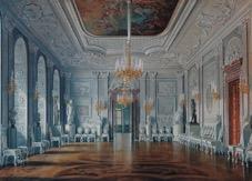 Приемный кабинет Александра III Фото до 1941 года